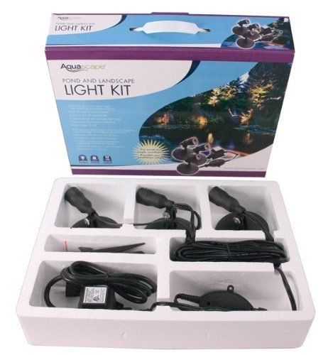 Aquascape  Inc  Pond And Landscape Light Kit  Part No