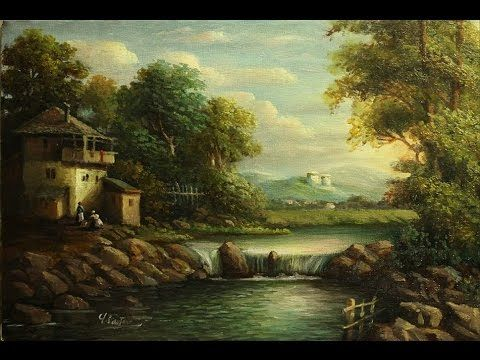 Pix For Easy Oil Painting Ideas Winter Painting Painting Landscape Paintings