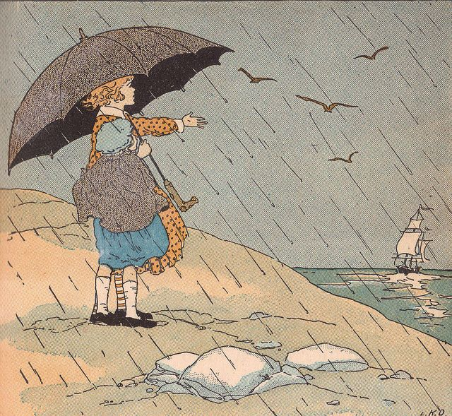 the rain is raining