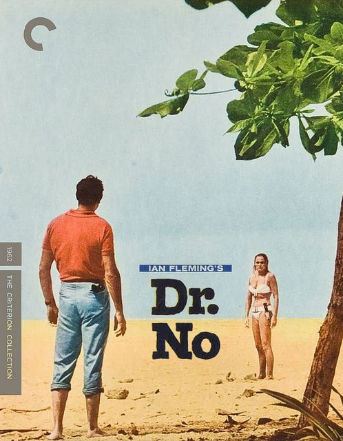 Dr No Criterion Collection Blu Ray Film Posters Vintage Old
