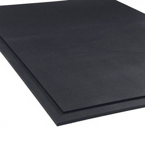 Rubberlock Black 4x4 Ft 1 2 Inch Rubber Durable Gym Flooring Mat Gym Flooring Rubber Tiles Gym Flooring Tiles