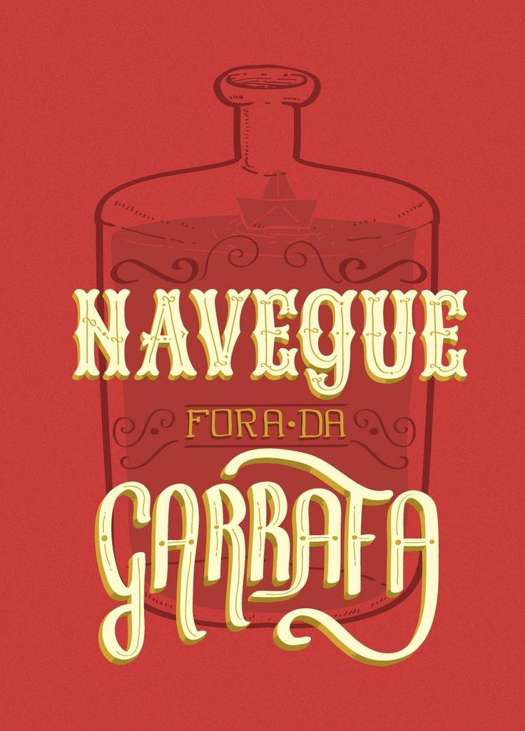 Navegue fora da garrafa  /   Sail outside the bottle     |     more works: www.facebook.com/pages/Henrique-Petrus/471566516317375