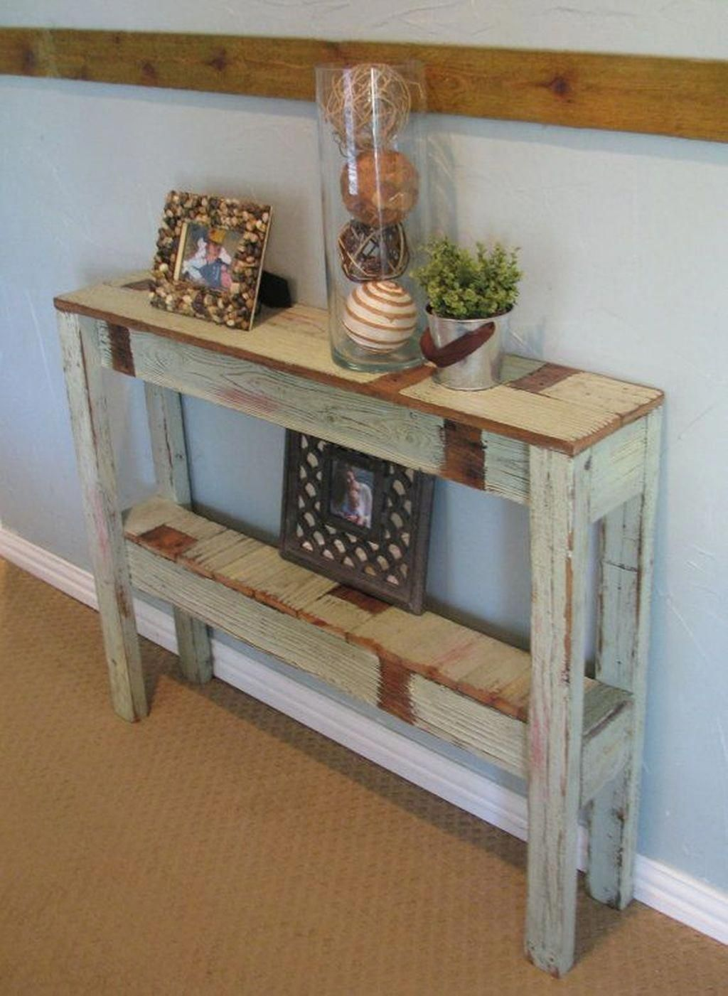 homedecorpalets in 2020 Diy entryway table, Farmhouse