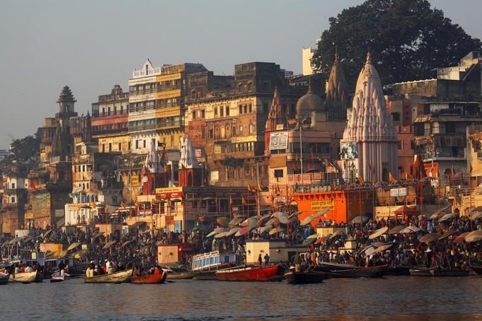 Varanasi. It's a bit hectic but worth the headache.