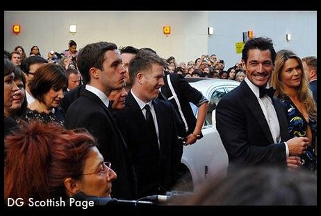 #DavidGandy at Gq Man of the Year Awards 2014 #RedCarpet 2014