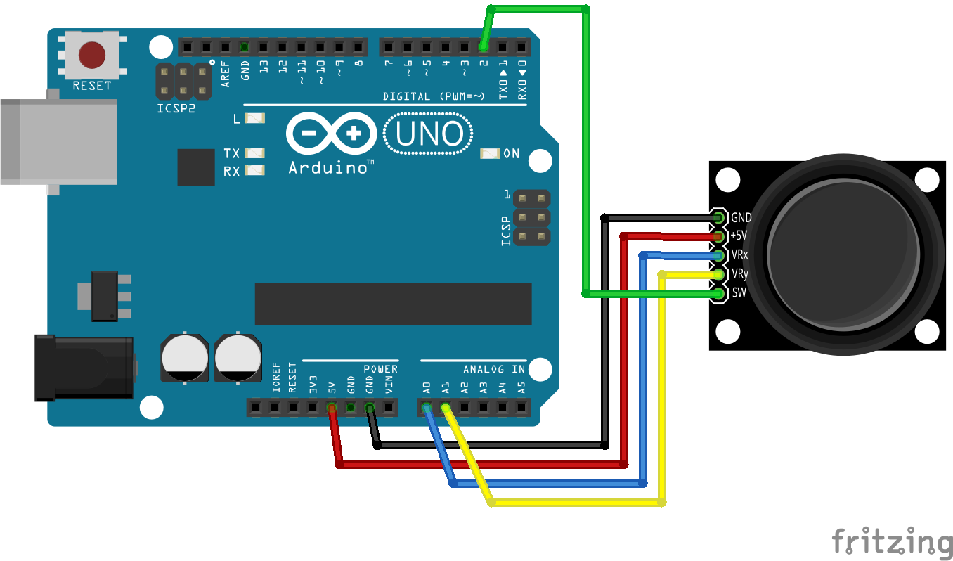 connecting arduino with m029 joystick getting started technology