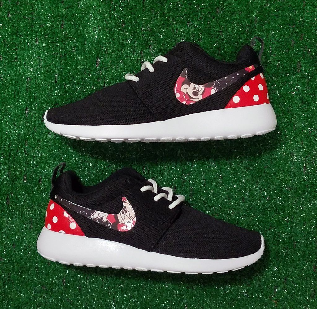 c36c264f2669 Customized Minnie Mouse Nike Roshe Sneakers