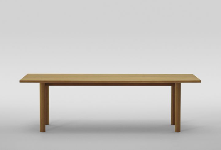 Contemporary Table / In Wood / Home / By Naoto Fukasawa MALTA Maruni