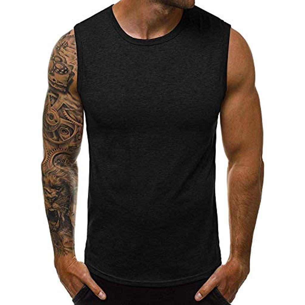 OZONEE Mix Herren Tanktop Tank Top Tankshirt T Shirt mit