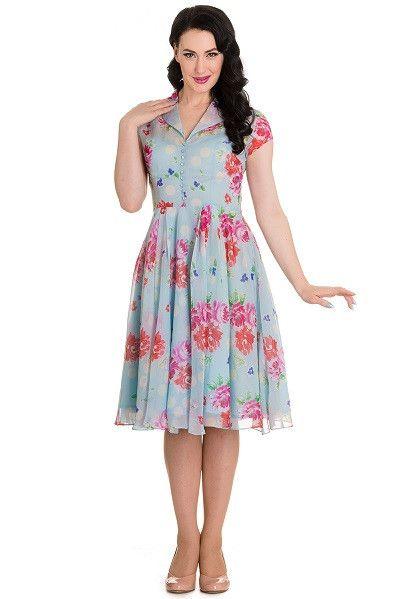 e4f3d14d6e2b Hell Bunny Bloomsbury Dress