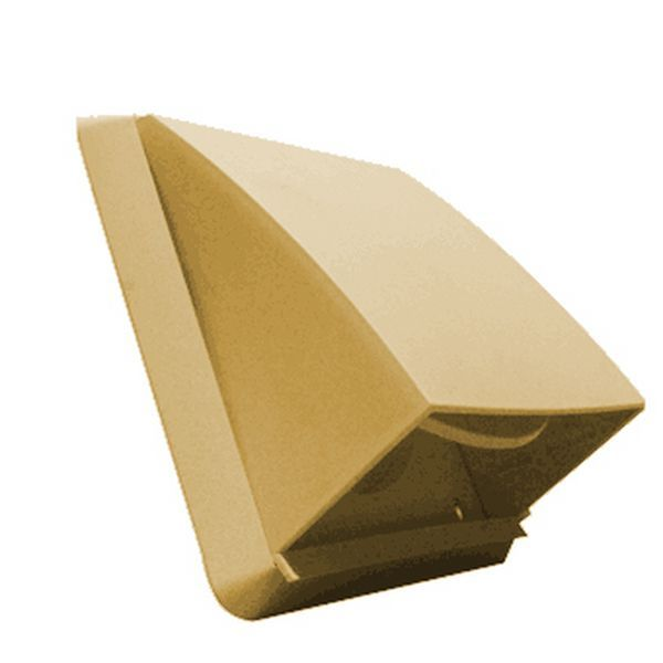 Cowl Outlet Grille 100mm Beige Vent Covers I Sells Whole House Ventilation Flexible Duct Wall Vents