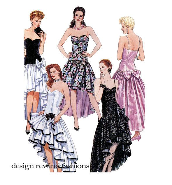 McCalls 4648 EVENING GOWN PATTERN Sexy Strapless Flamenco Fit ...