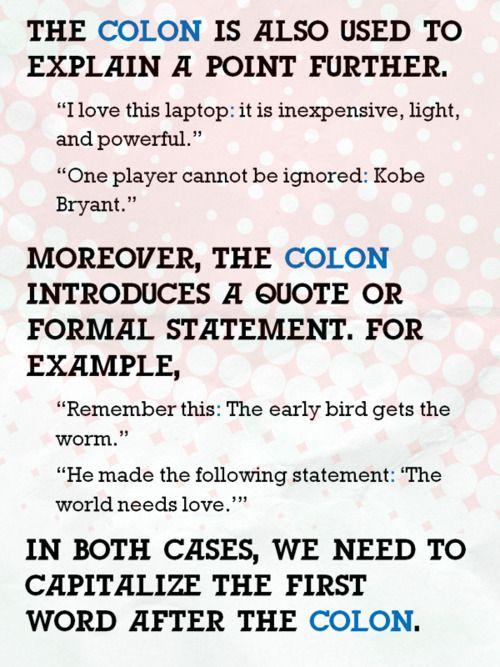 Teaching Stuff Colon vs Semicolon – Semicolon and Colon Worksheet