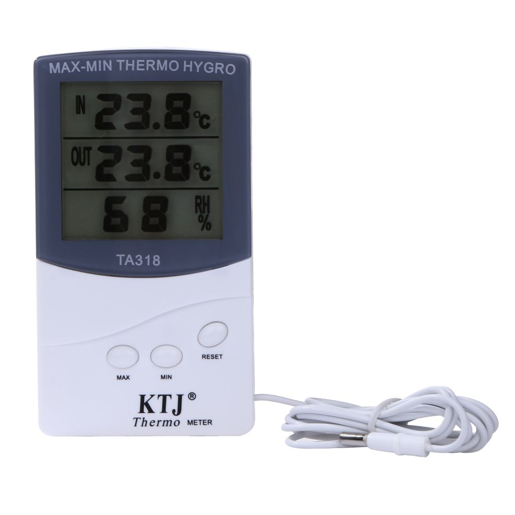 digital lcd humidity meter hygrometer temperature thermometer
