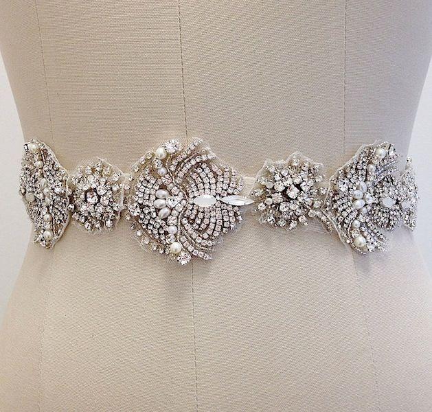 3814f00ab5 Bridal Sash with an Ethnic Twist