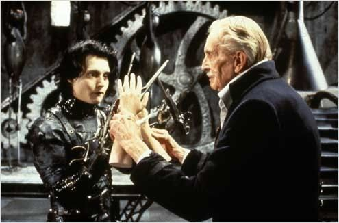 The Inventor and Edward Scissorhands (both of them) from Edward Scissorhands.