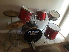 Westbury Pro-Cussion Drum Set Evans Solar Sabian Cymbals