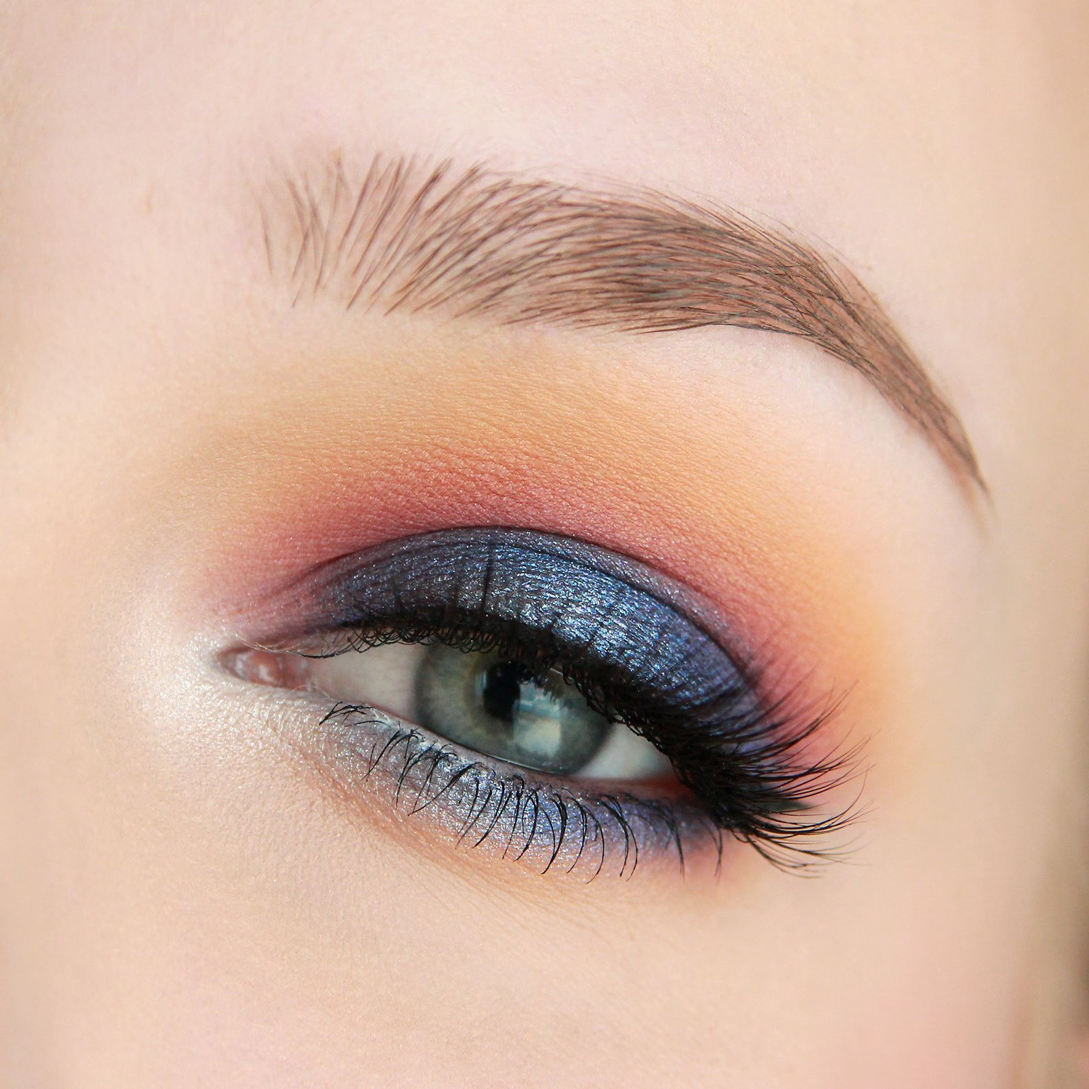 Night Sky At Dusk Makeup Tutorial Makeup Geek Makeup Geek Colorful Makeup Eye Makeup