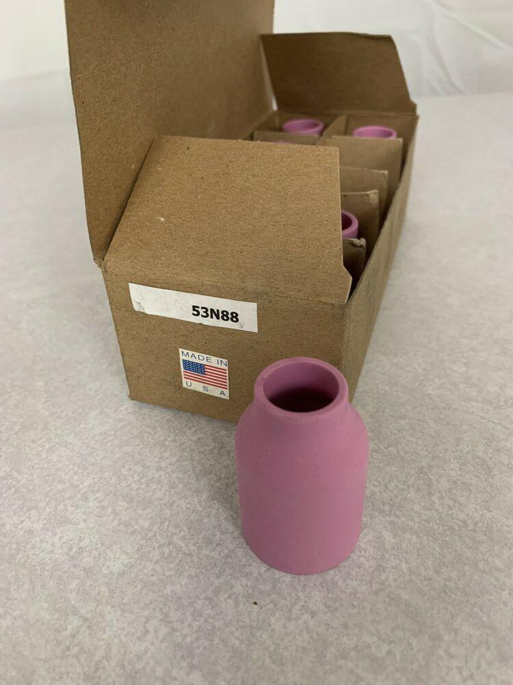 Weldtec Pack Of 8 Tig Welding Large Gas Lens Ceramic Cup 53n88 10 1 2 Nozzle Weldtec Ceramic Cups Tig Welding Welding