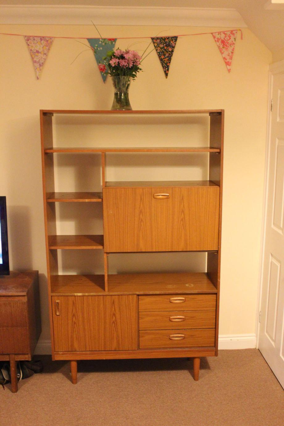 vintage 70s furniture. #Schreiber #vintage #60s #70s #furniture #wood #upcycle Vintage 70s Furniture A
