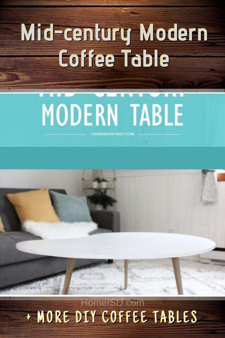40 easy diy coffee table ideas you can build on a budget diy rh pinterest com