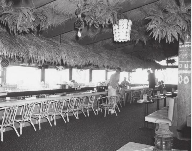 Pieces of Eight, Marina Del Rey, (restaurant) -- Tiki Central