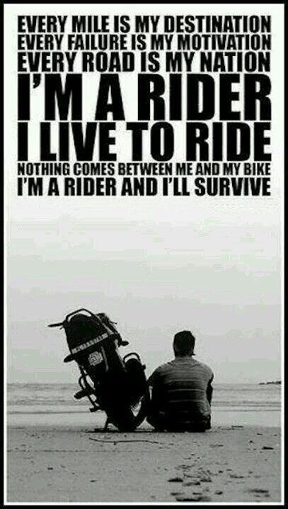 Motorcycle Quotes Biker Quotes  Biker Quotes  Pinterest  Bikers