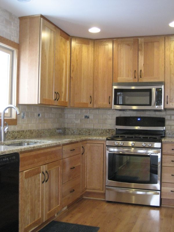Best Light Wood Cabinets With Granite Google Search Kitchen 640 x 480