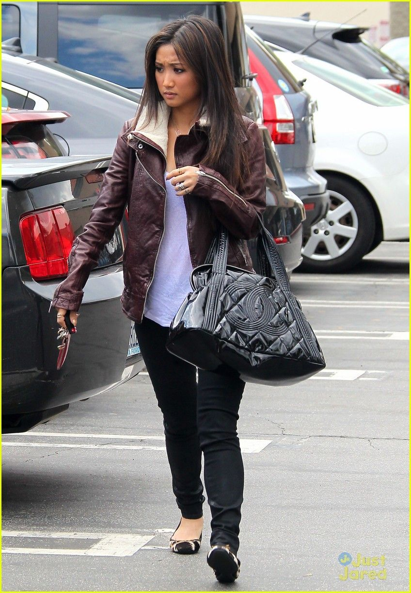 Leather jacket song - Brenda Song Lunch In Studio City With Zoey Deutch Brenda Song Lunch Stop