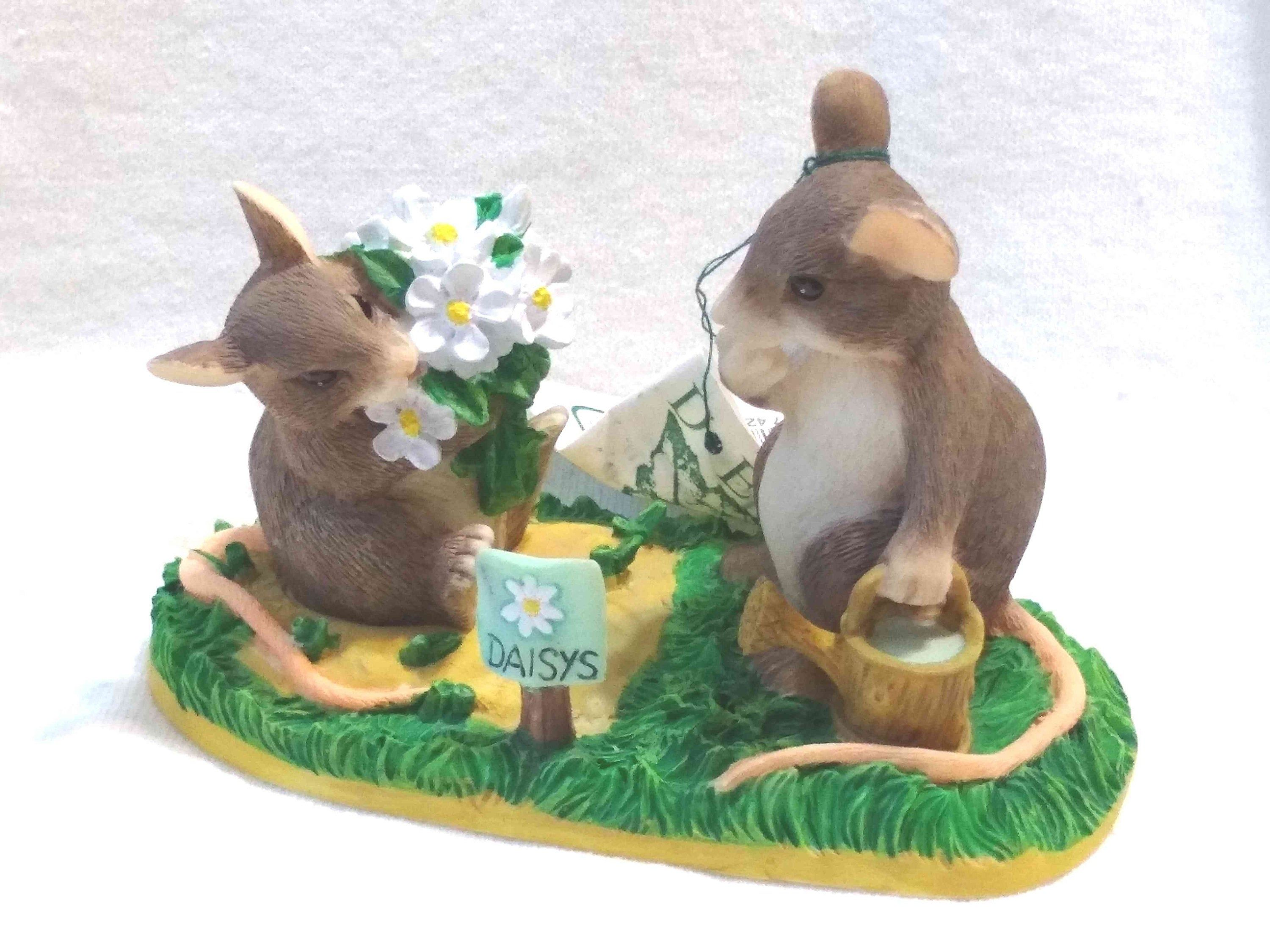 Vintage Charming Tails by Dean Griff Love Is In The Air Rabbits Retired