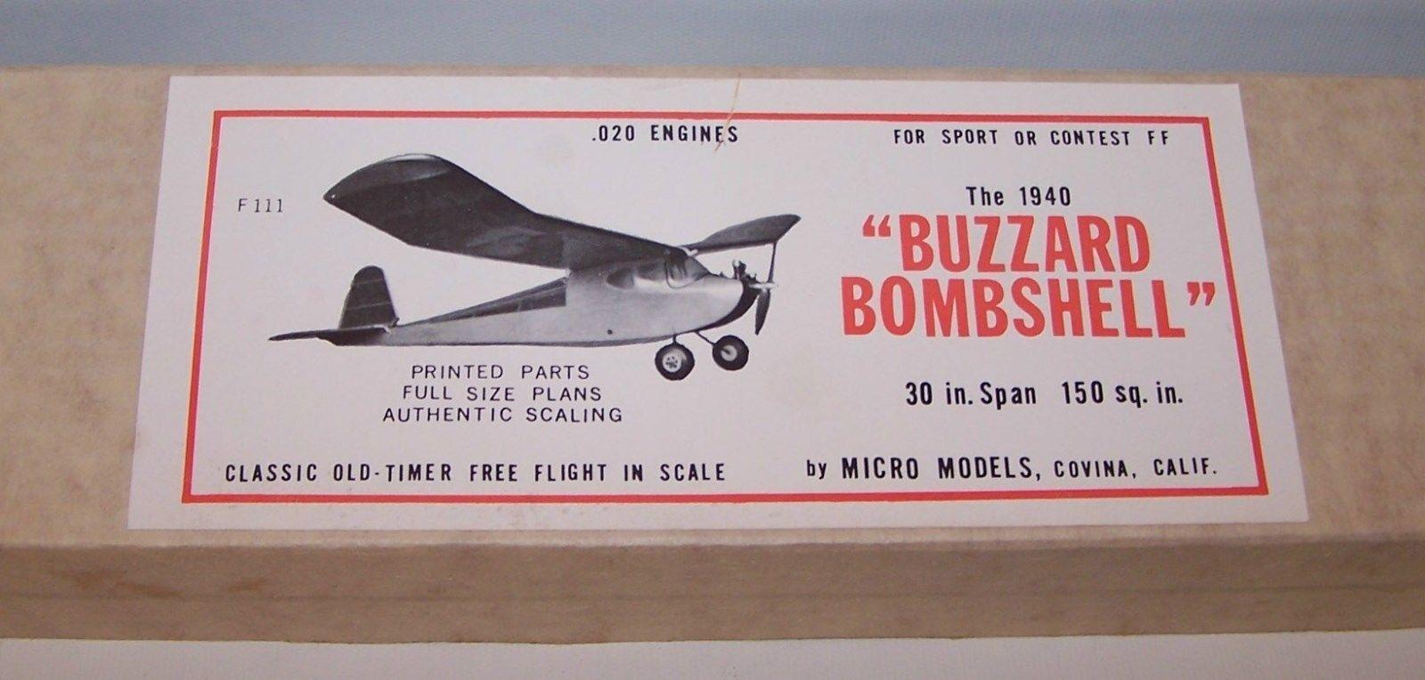 Vintage Micro Models The 1940