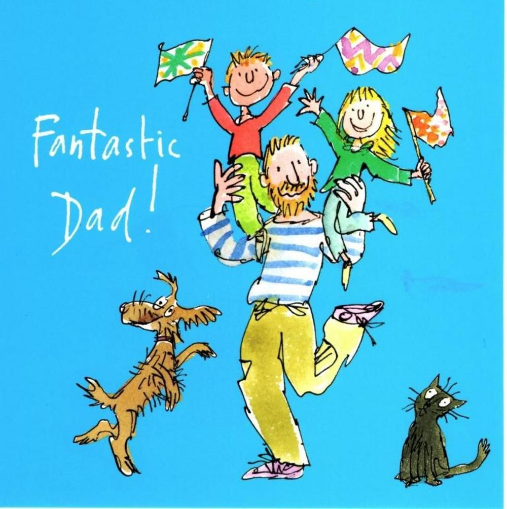 Quentin blake fantastic dad happy fathers day greeting card dads quentin blake fantastic dad happy fathers day greeting card m4hsunfo Image collections