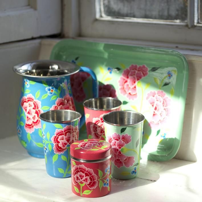 Franjipani Floral Cup