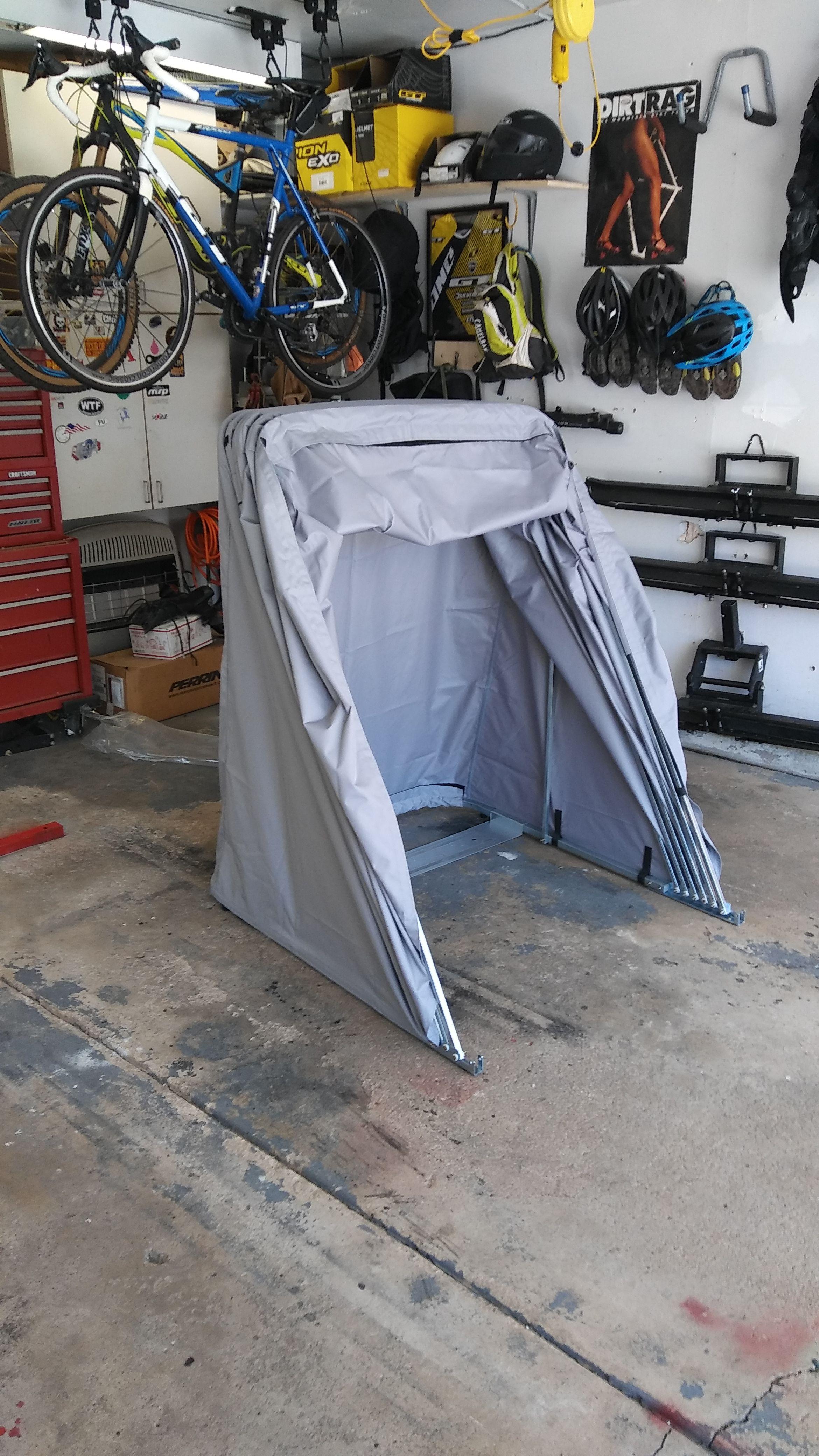Motorcycle Shelter Cover Shed Ideias Para Pintura Carros Motos