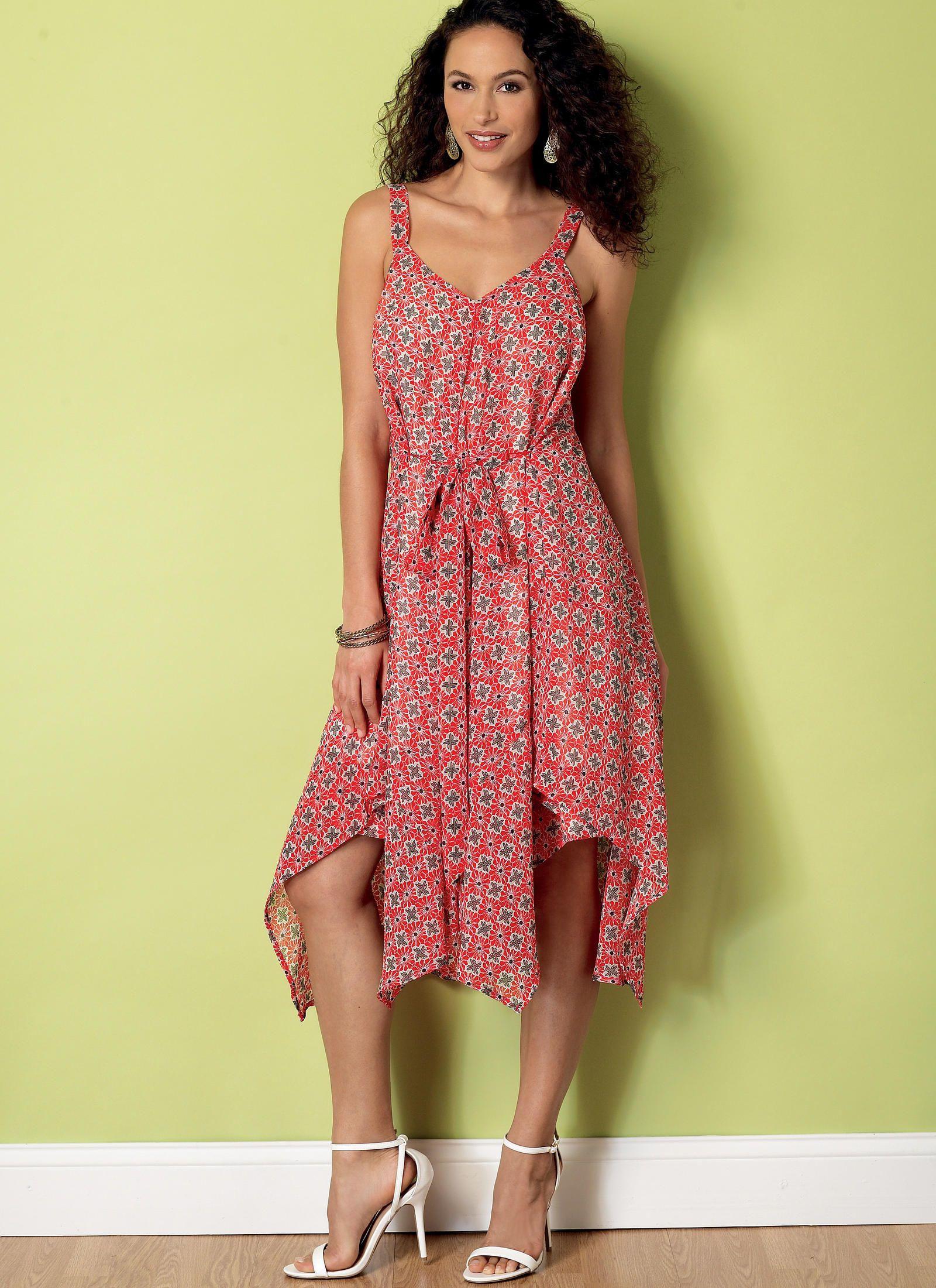 B6349 sundress pattern dress making patterns dresses