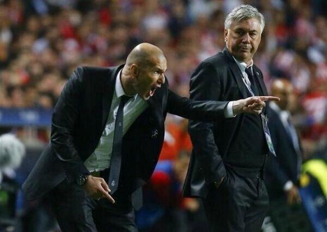 Zidane plus motivé que jamais face à un Ancelotti plus que circonspect
