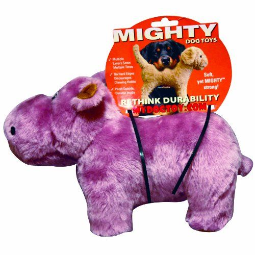 Vip Products Mighty Herb Hippo Safari Dog Toy Pink Buy Your