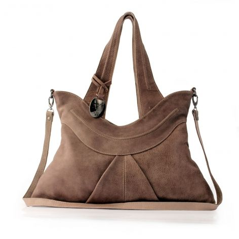 Leila Leather Bag Mushroom 356 Ana Faye