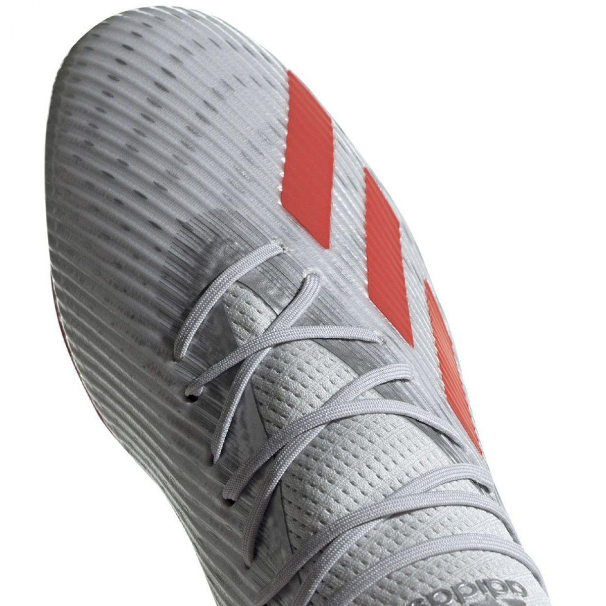 Buty Pilkarskie Adidas X 19 2 Fg M F35386 Szare Szare Football Shoes Mens Football Boots Adidas Shoes