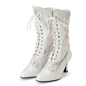 Perfect winter wedding footwear
