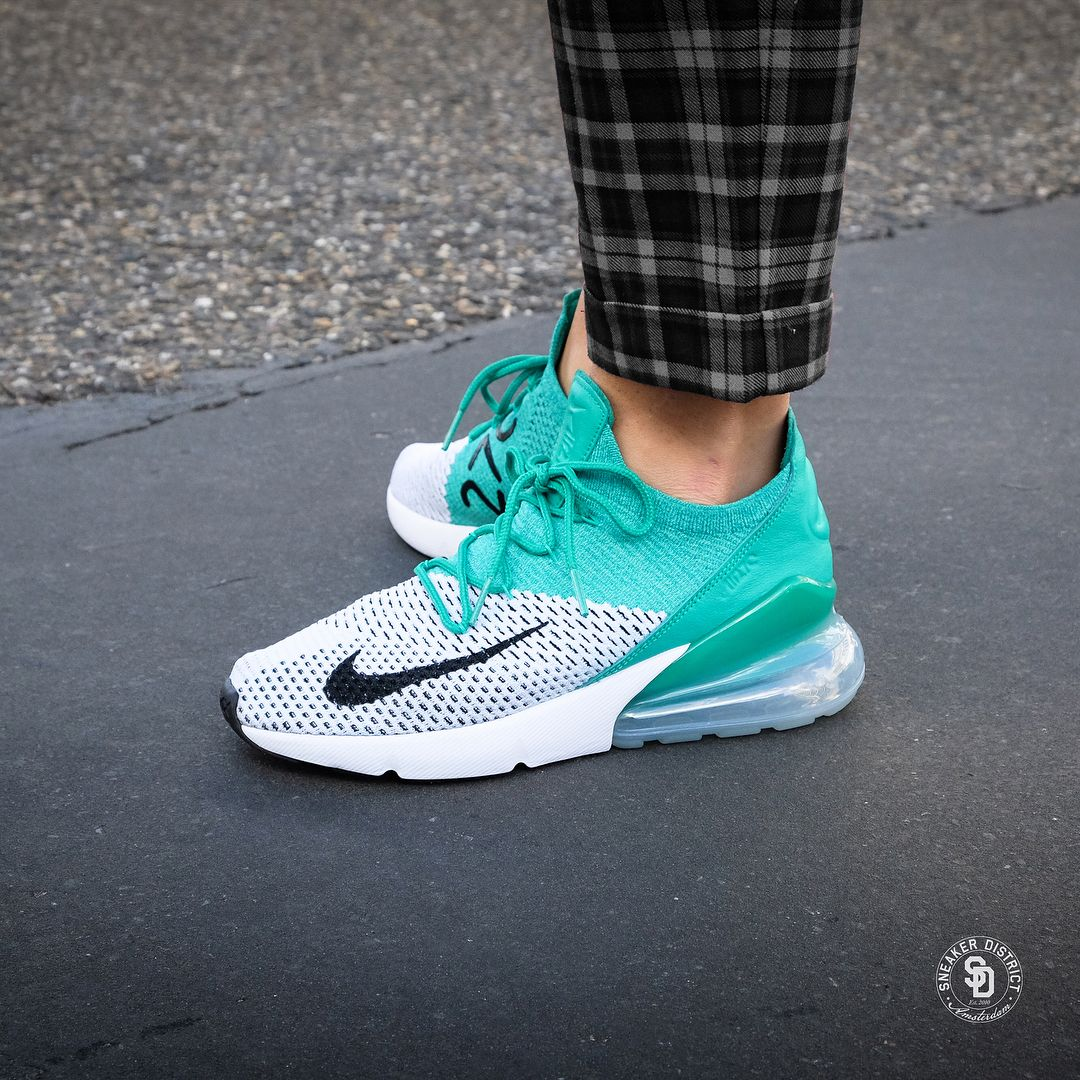 new product b7397 76653 Nike Air Max 270 Flyknit will release for men and women on ...