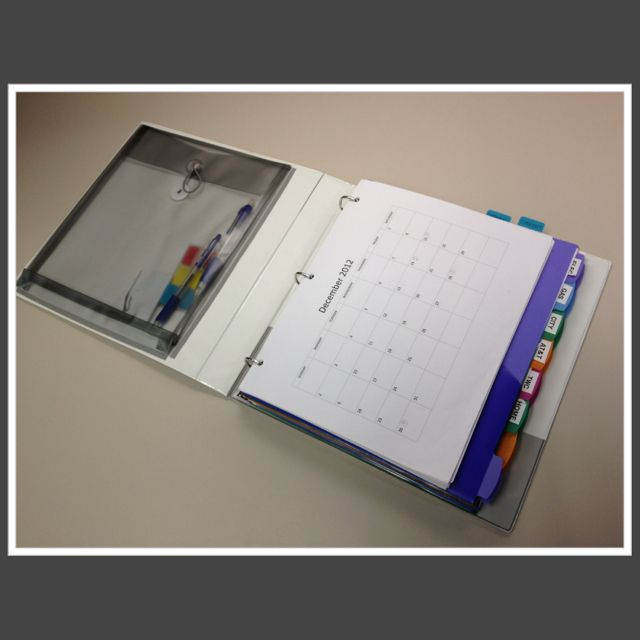 Create A Personal Finance Binder With Monthly Budget