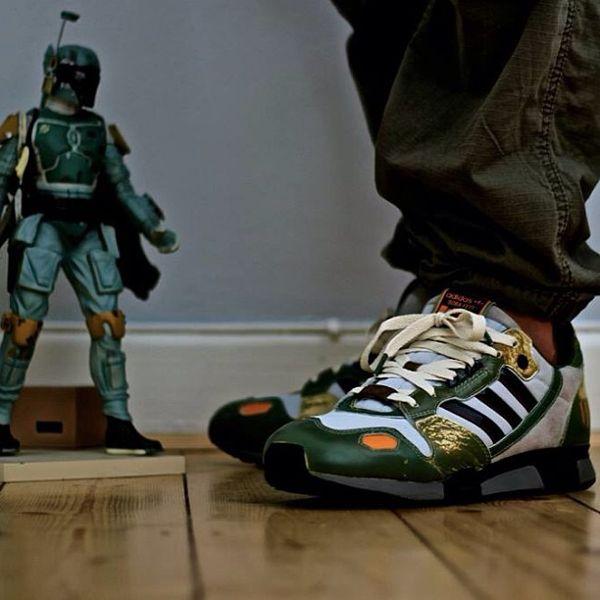 online retailer 24385 715a2 Star Wars x adidas Originals ZX 800 'Bobba Fett' | Shoe Game ...