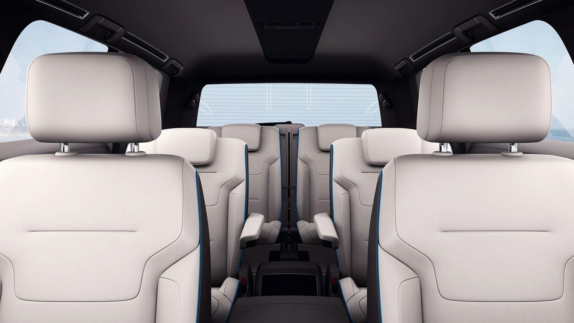 2013 Volkswagen Cross Blue SUV Concept Seat design Suv