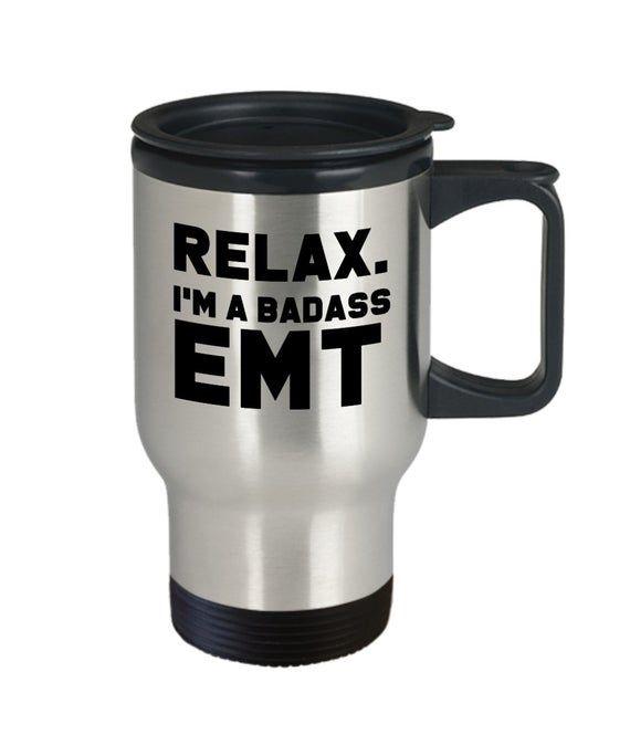 Badass emt, gift for emt, gift emt, funny emt gift, emt mug, mug emt #giftsforemployees