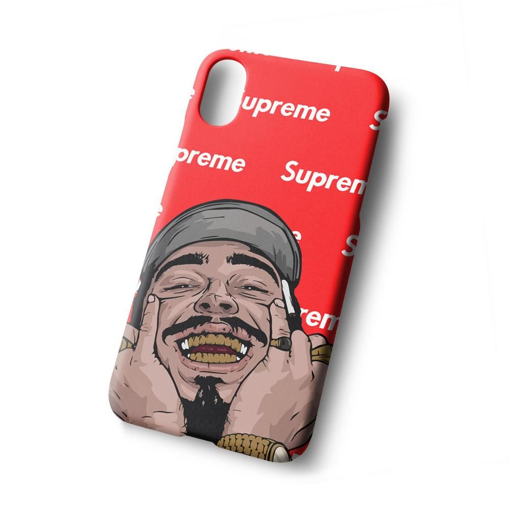 big sale 938e0 f4e5f Post Malone Supreme For iPhone X | iPhone Case | Phone, All mobile ...