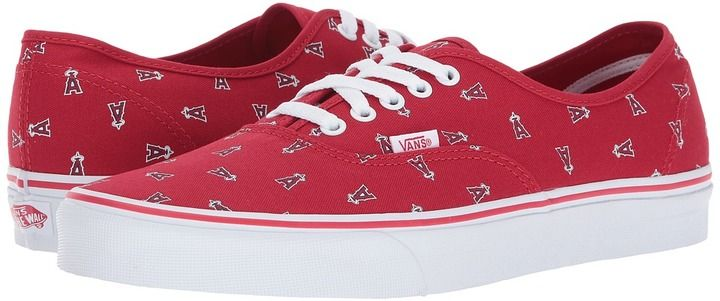 9ede360679 Vans Authentic x MLB Anaheim Angels Red) Shoes