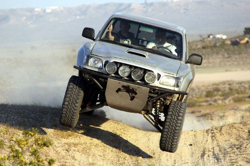 Toyota Tacoma With Total Chaos Long Travel Suspension Kit Truck