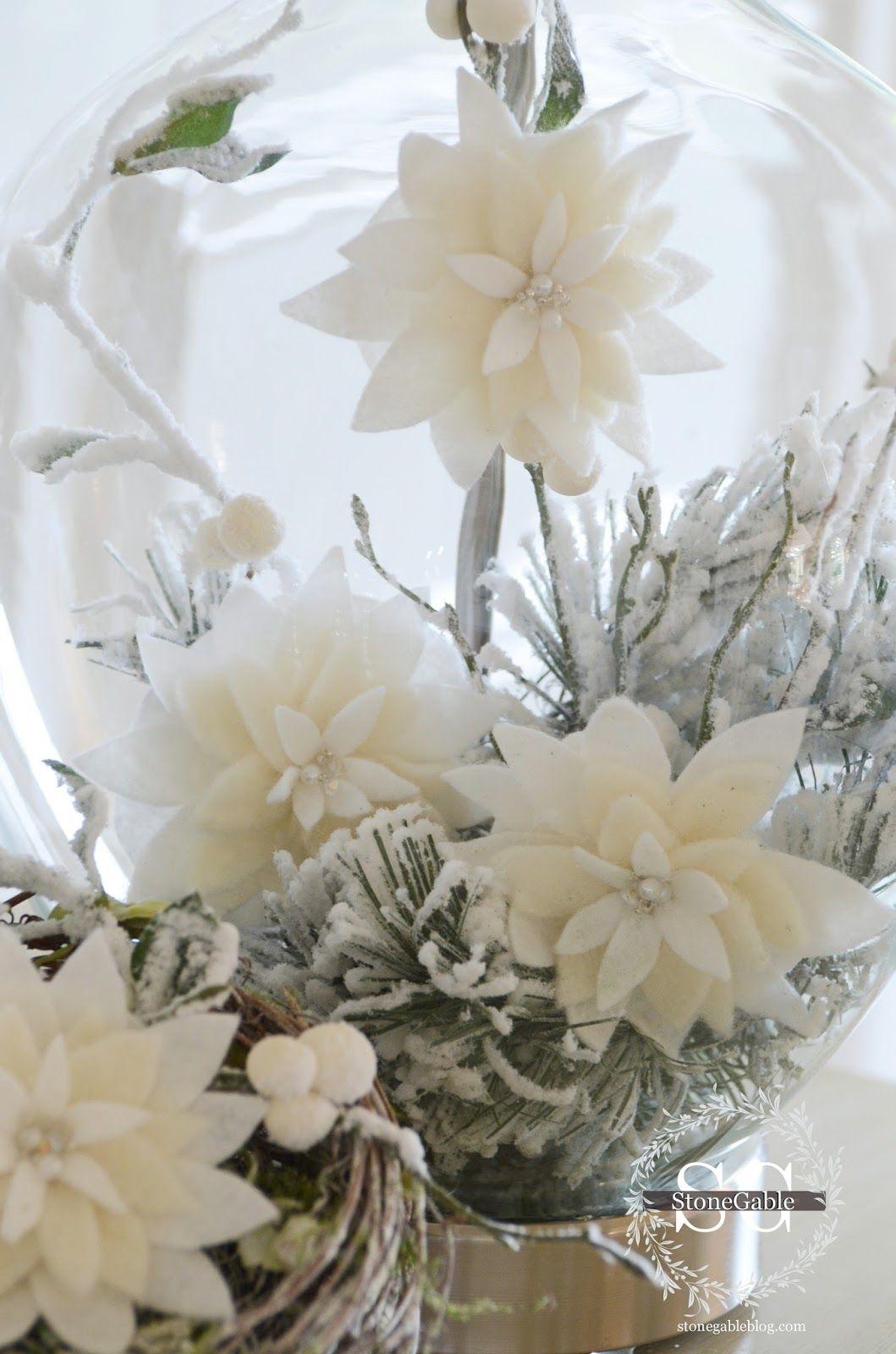 Luxury Poinsettia Wedding Decorations Image - The Wedding Ideas ...