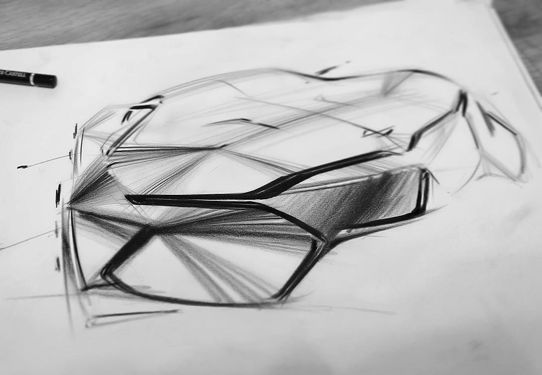 "Car Design World on Instagram: ""BMW sketch by Oscar Johansson @ossondesign #cardesign #car #design #carsketch #sketch #handdrawing #pencilsketch #bmw"""